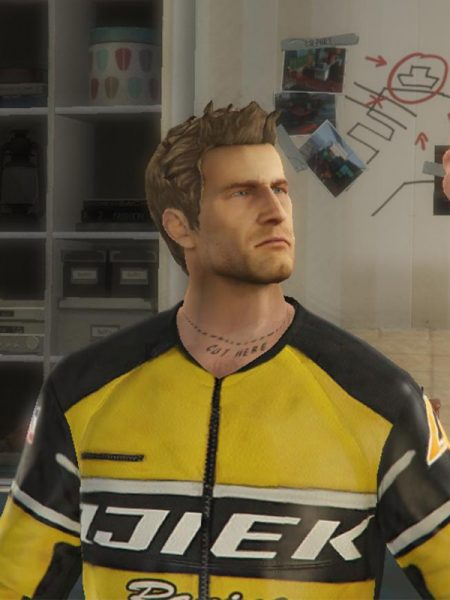 Dead Rising Chuck Greene Leather Jacket Next Leather Jackets