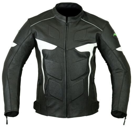 Mens-Motorcycle-LJ2-W-Leather-Jacket