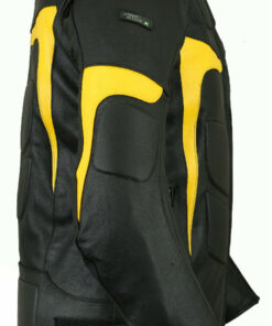 RIDEX-Mens-LJ-2Y-Biker Motorbike-Yellow-Jacket