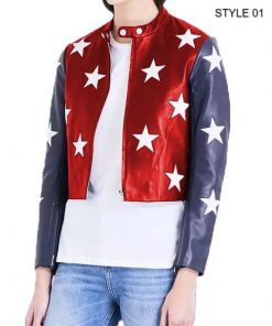 Womens-Independence-Day-Cropped-Jacket