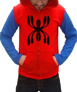 Spiderman Homecoming Red Hoodie