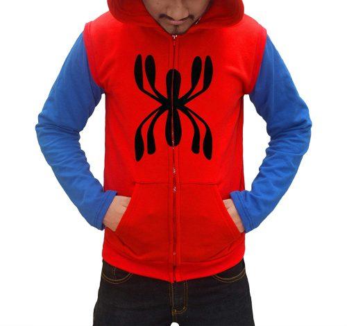 Spiderman Homecoming Red Hoodie