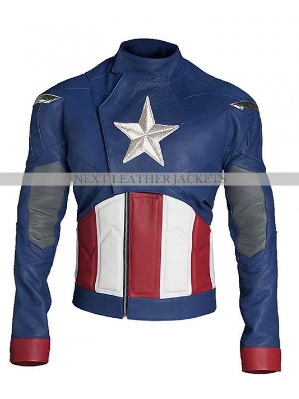 Avengers Endgame Captain America Jacket
