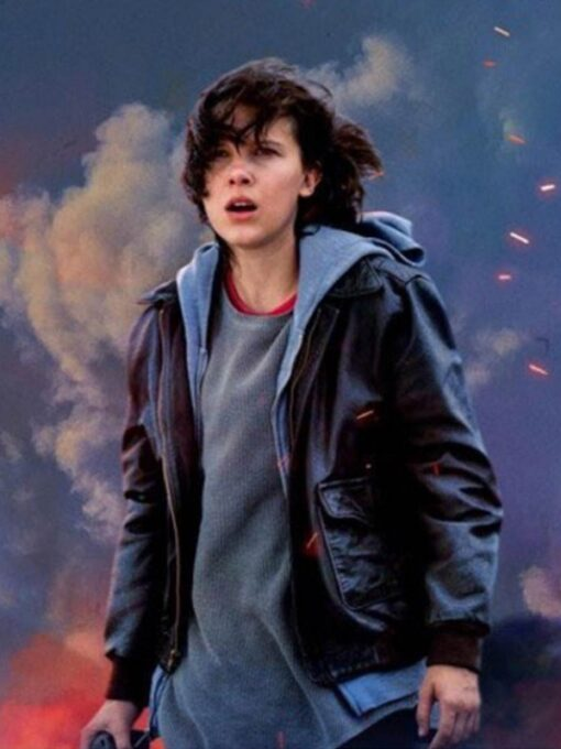 Godzilla Millie Bobby Brown Jacket