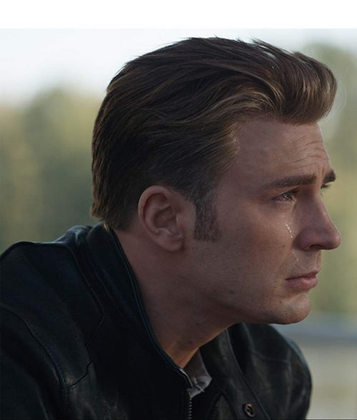 Avengers Endgame Steve Rogers Leather Jacket
