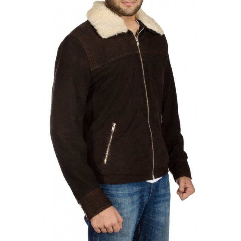 Andrew Lincoln The Walking Dead Rick Grimes Fur Jacket