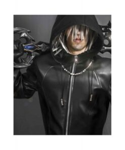 Kingdom Hearts Organization Xiii Enigma Leather Coat