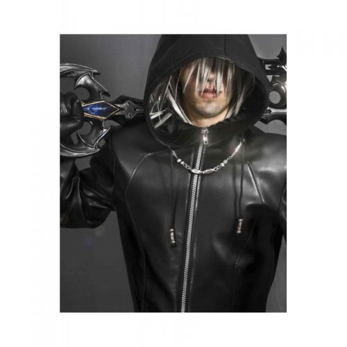 Kingdom Hearts Organization Xiii Enigma Leather Coat