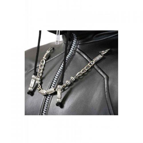 Kingdom Hearts Organization Xiii Enigma Leather Trench Coat