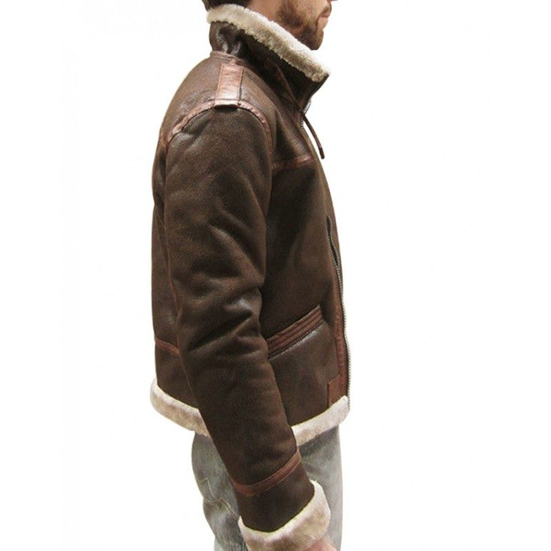Resident Evil 4 Leon Kennedy Brown Leather Jacket