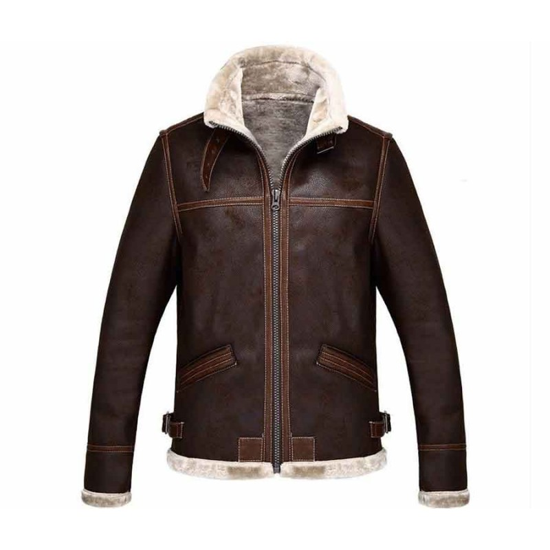 Resident Evil 4 Leon Kennedy Leather Jacket