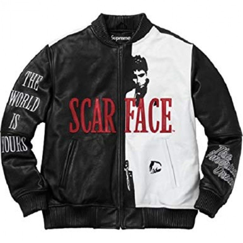 Scarface Al Pacino Tony Montana Leather Jacket