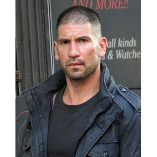 Season 2 Punisher DareDevil Jon Bernthal Cotton Black Jacket