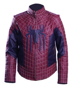 The Amazing Spiderman Leather Jacket