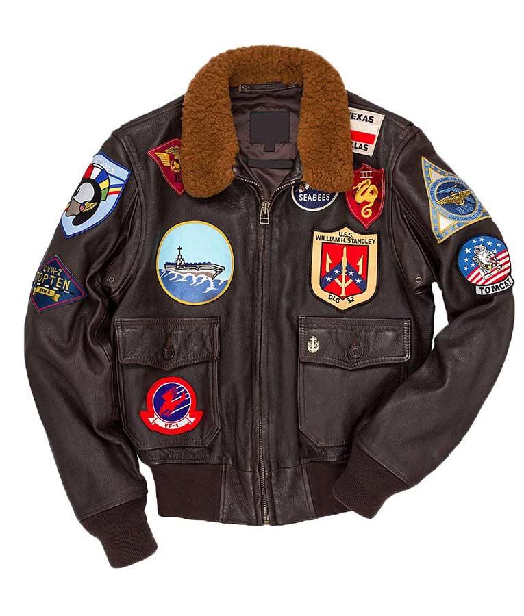 Tom Cruise Maverick Top Gun Jacket