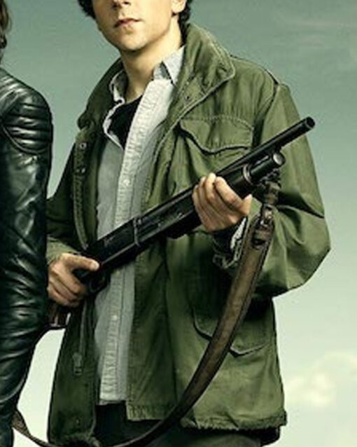 ZOMBIELAND DOUBLE TAP JESSE EISENBERG COTTON JACKET