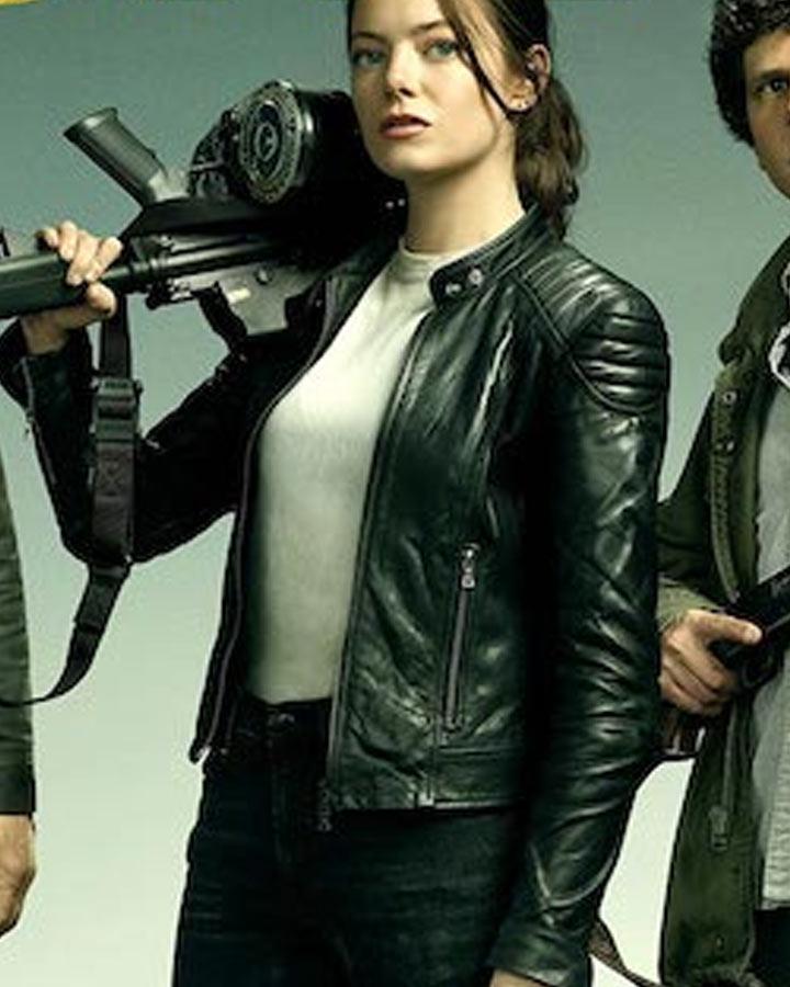 Zombieland Double Tap Emma Stone Jacket