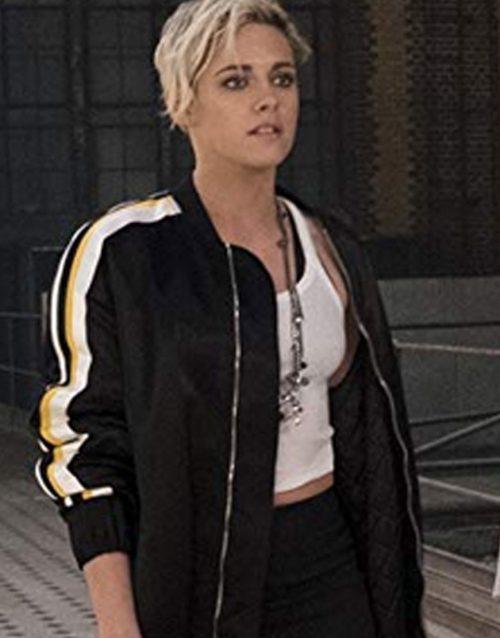 Charlie's Angels Kristen Stewart Bomber Trench Coat