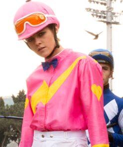 Charlie's Angels Kristen Stewart Pink Satin Jacket