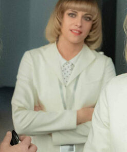 Charlie's Angels Team White Cotton Coat