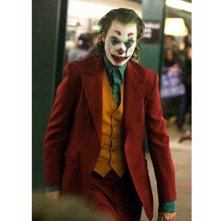 DC Joker Arthur Fleck 2019 Red Coat