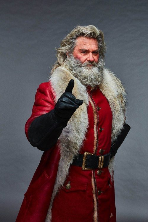 Santa Claus The Christmas Chronicles Shearling Fur Coats
