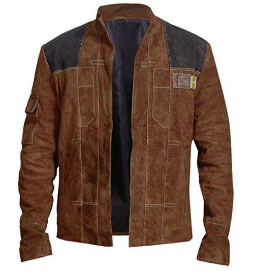 A Star Wars Story Han Solo Alden Ehrenreich Brown Jacket