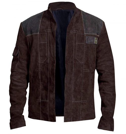 A Star Wars Story Han Solo Alden Ehrenreich Dark Brown Jacket