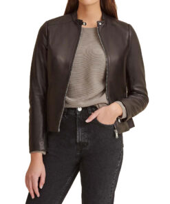 Classic Scuba Leather Jacket