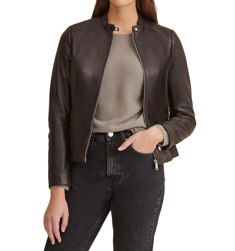 Classic Scuba Leather Jacket