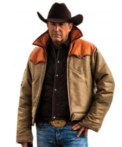 Kevin Costner Yellowstone John Dutton Leather Jacket And Vest