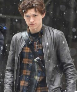Spider-Man-Real-Leathe-Jacket-Tom-Holland-Bomber-Leather-Jacket