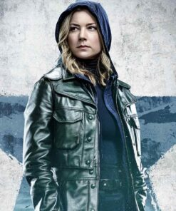 Sharon Carter TV Series The Falcon and the Winter Soldier Emily VanCamp Leather Jacket