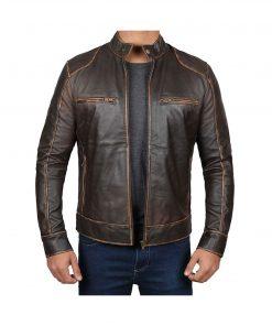 men_distressed_brown_leather_jacket