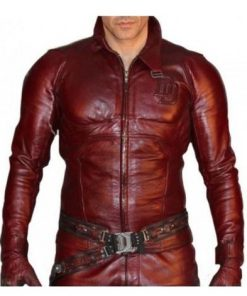 Charlie-Cox-Daredevil-Red-Leather-Jacket-Costume