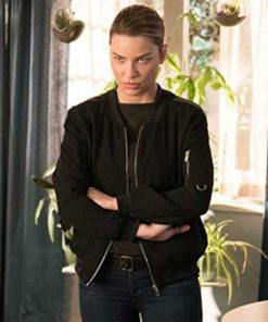 Lauren-German-Black-Jacket-TV-Series-Lucifer-S03-Chloe-Decker-Black-Bomber-Jacket