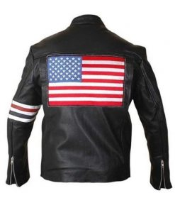 Mens-American-Flag-Black-Leather-Motorcycle-Jacket-USA