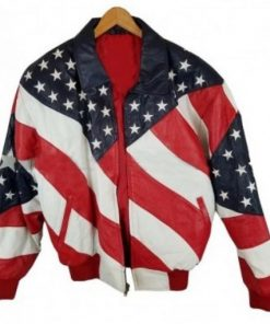 Robert-Matthew-Independence-Day-American-Flag-Leather-Jacket