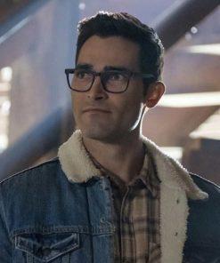 Tyler-Hoechlin-Superman-And-Lois-Clark-Kent-Blue-Denim-Jacket