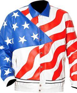 USA-Flag-Costume-Vanilla-Ice-Leather-Jacket