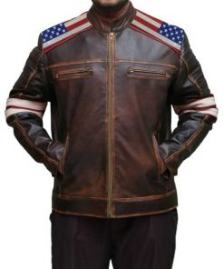 Victory-Sign-Patches-Men-American-Flag-Distressed-Brown-Jacket