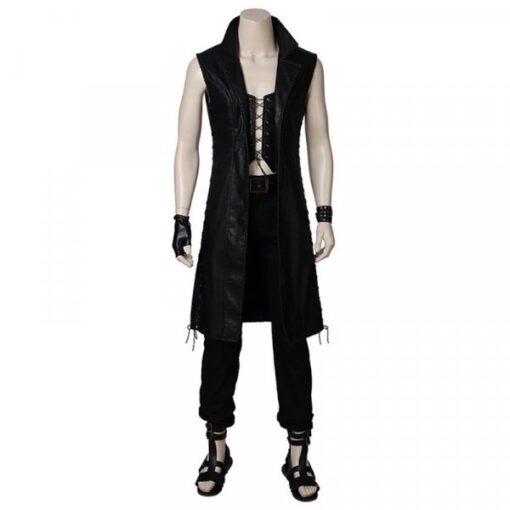 black-leather-vest-coat