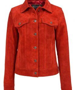 women-red-trucker-jacket